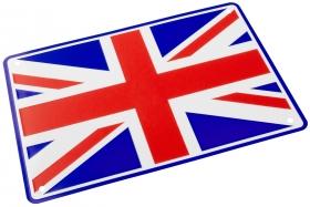 parkovací cedule anglická vlajka