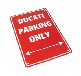 parkovací cedule Ducati