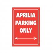 parkovací cedule Aprilia
