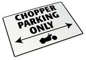 parkovací cedule Chopper