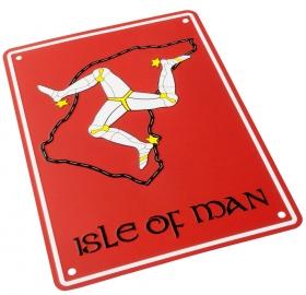 parkovací cedule Isle of Man