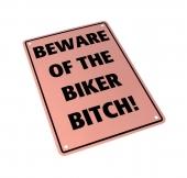 parkovací cedule Biker Bitch