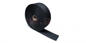 termo izolační páska na výfuky černá 50mm, délka 15m