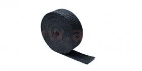 termo izolační páska na výfuky černá 25mm, délka 4,5m