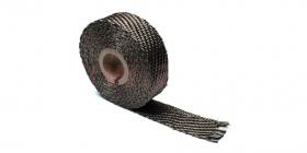 termo izolační páska na výfuky titanová 25mm, délka 4,5m