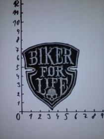 nášivka Biker for Life