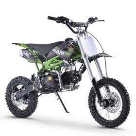 pitbike Sky Ram 125ccm zelený