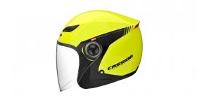 otevřená helma Cassida Reflex Safety žlutá fluo/černá