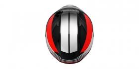 integrální přilba Cassida Apex Jawa červená/černá/šedá