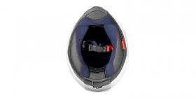integrální přilba Cassida Apex Vision černá matná/šedá reflexní