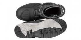 boty na motorku Kore Adventure Mid černé
