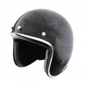 otevřená helma Nox N242 černá metalická
