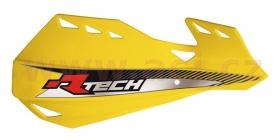 kryty rukou - páček Rtech Dual Evo žluté - odstín Suzuki RMZ