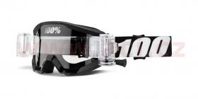 dětské brýle na motokros 100% Strata JR Mud Outlaw (čiré plexi)