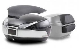 moto kufr Shad SH48 titan včetně opěrky a karbonového víka