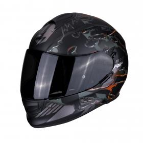integrální přilba Scorpion EXO 510 Air Likid matná černo/oranžová