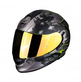 integrální přilba Scorpion EXO 510 Air Likid titan/neon žlutá