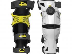 dětské kolenní ortézy Mobius X8 bílá/žlutá
