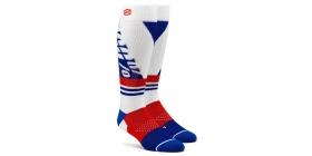 dlouhé ponožky 100% Torque bílá