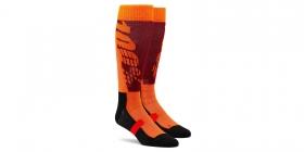 dlouhé ponožky 100% Torque červená