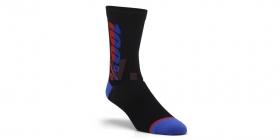 dlouhé ponožky 100% Rythym Merino černá