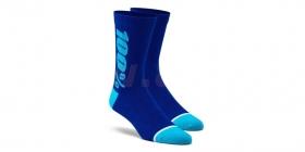 dlouhé ponožky 100% Rythym Merino modrá