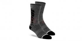 dlouhé ponožky 100% Rythym Merino šedá