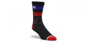 dlouhé ponožky 100% Flow černá