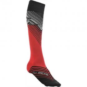 dětské ponožky Fly Racing MX červená/černá