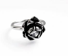 motorkářský prsten dámský Růže