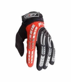 dětské rukavice na motokros Pilot Pioneer červené