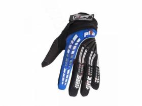 dětské rukavice na motokros Pilot Pioneer modré