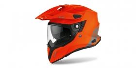 enduro přilba Airoh Commander Color oranžová matná