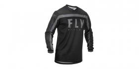 motokrosový dres Fly Racing F-16 černá/šedá
