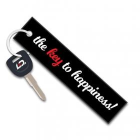 klíčenka textilní Klíč ke štěstí