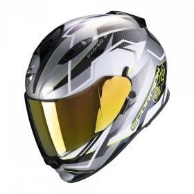integrální přilba Scorpion EXO 510 Air Balt stříbrno/bílo/neonově žlutá