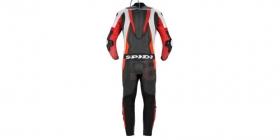 dvoudílná moto kombinéza Spidi Sport Warrior Touring černá/bílá/červená fluo
