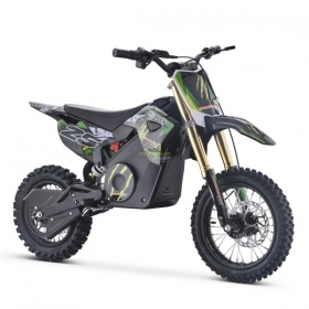 dětská elektrická motorka Mini Rocket Coyote 1300W zelená