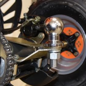 dětská benzínová čtyřkolka Hecht 54125 černá