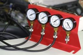 analogový synchronizér - budíky pro seřízení karburátorů