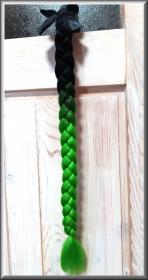 copánek na přilbu černá/zelená