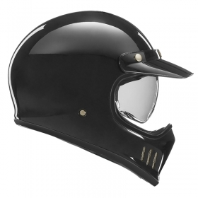 retro přilba Nox Premium Seventy černá