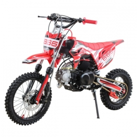 pitbike Mini Rocket Storm 125ccm červený