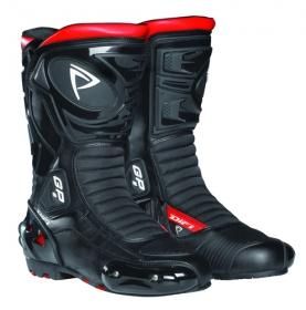 boty na motorku Difi Mugello černé/červené