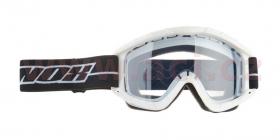 brýle na motokros Nox N1 bílé