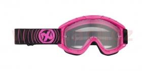 brýle na motokros Nox N1 růžové