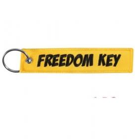 klíčenka textilní Freedom key
