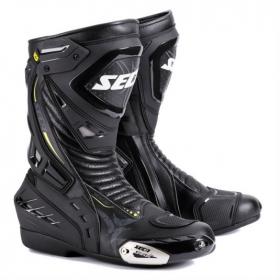 boty na motorku Seca Hyper černé