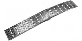 nájezdová rampa HD skládací hliníková široká