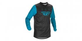 motokrosový dres Fly Racing F-16 modrá/černá
